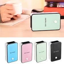 handheld mini electric usb desktop heater portable office winter air fan warmer