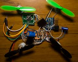 building a micro quadcopter using multiwii acirc insidegadgets i hacked up one of my pcbs that had an atmega footprint to act as the controller and started work on converting the mpu 6050 arduino code to c code which