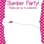 free sleepover invitation templates free sleepover party invitations 9 free printable sleepover