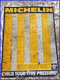 Original Vintage Michelin Enamel Sign Classic Car Garage