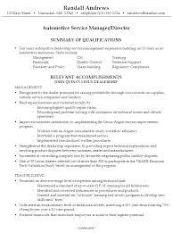 Aut Ideal Auto Body Technician Resume Example Free Career Resume