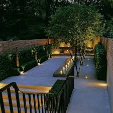 landform consultants south kensington this minimalist garden features an andrew ewing designed water feature beautiful outdoor lighting and elegant