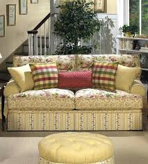 Patterned  Printed Fabric Sofas L66