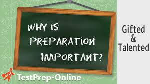 gifted talented test prep why is preparation important