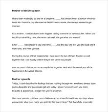 8 Wedding Speech Examples Pdf Sample Templates