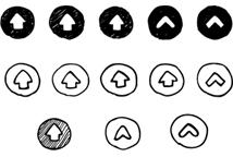 やじるし素材天国矢印デザイン