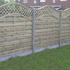 continental fence panels harrow