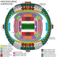 Saints Superdome Virtual Seating Chart 66 Most Popular Saints Superdome Virtual Seating Chart