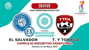 El Salvador vs Trinidad y Tobago «【 En ...