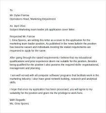 sample team leader resume cover letter team leader cover letter sample