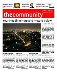 Newspaper Template Psd Front Page Of A Newspaper Template Metabots Co