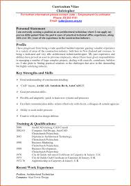 Resume How To Write Personal Statement For Radiography