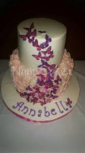 Pink And Purple Butterfly Cake Baby Shower Stay Calm I Make