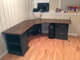 office desk idea. Best 25 L Shaped Desk Ideas On Pinterest Office Desks Wood Photo Of For Curved Idea 15 D