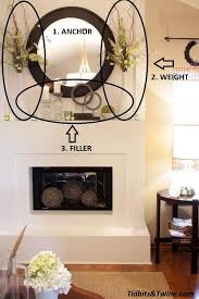 I really like this simple and sophisticated look. Mantel Decorations :  IDEAS & INSPIRATIONS :