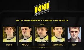 new official na vi roster dota2
