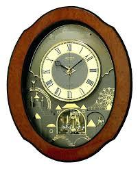 melody wall clock rhythm clocks ultra ii al melos in motion repair seiko 6 part moving melos in motion wall clocks mantel clock seiko