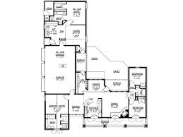 3 bedroom house plan with mother in law suite fresh house plans with separate garage floor
