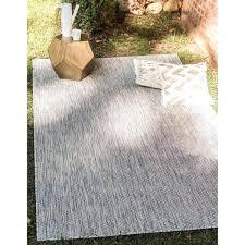 unique loom outdoor solid area rug rugs beige 5x7