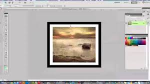 Photoshop Tutorial How To Add Borders To Images In Photoshop Youtube