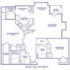 two bedroom floor plan 12