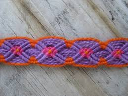Double Wave Friendship Bracelet Pattern