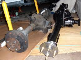 Ford 9inch Rear Axle Into Fox Mustang Using Stock Rear Drum