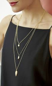 15 ways to wear layered necklace like a pro