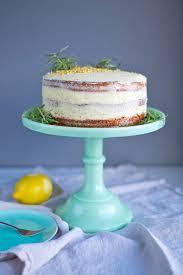Lemon Cake With Rosemary Buttercream Frosting Mondomulia