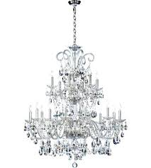 18 light chandelier quorum bohemian light inch chrome chandelier ceiling light style selections 18 light starburst