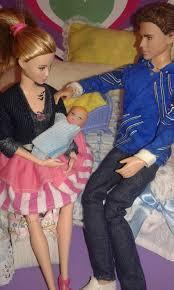 Resultado de imagen para tris y four una barbie en casa
