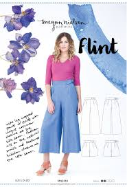 Pattern Pants Amazing Flint Pants And Shorts Megan Nielsen