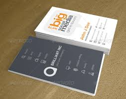 Refined V2 Social Media Business Card Template Business
