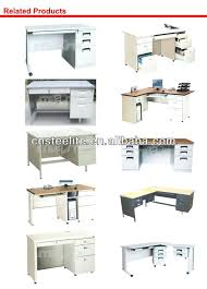 full image for metal office desk with locking drawers steel office desk with locking drawers office