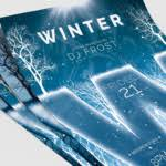 Minimal Winter Flyer Template Graphic By Thatsdesignstore - Creative ...
