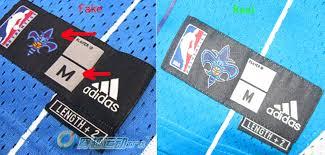 Adidas Nba Shorts Size Chart How To Spot Fake Nba Swingman Jerseys On Ebay Trademe