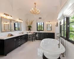 brilliant master bathroom vanity lights contemporary master bathroom with wall sconce built in bookshelf