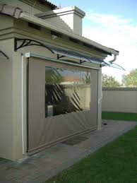 patio covers south africa. Brilliant Patio Gearbox Blind With PVC Awning On Patio Covers South Africa Blind U0026 Concepts