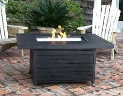 fire pit table cover outdoor patio fire pit table full size of cool extruded rectangular aluminum fire pit table cover