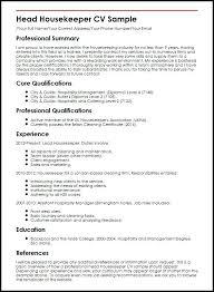 Housekeeping Resume Sample Resume For Housekeeping Job Job Resume ...