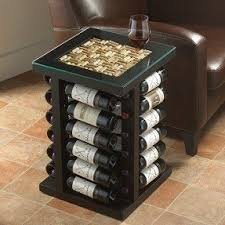 Wine rack table top 1