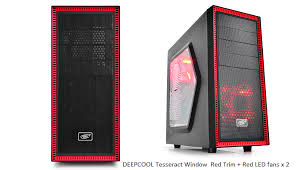 guide deepcool tesseract pc casing review so yeah it s at the outer edge of the front panel i it quite good because of how it does not interfere the overall look of the case
