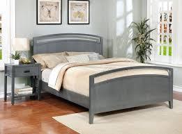 Flat Platform Bed Frame Queen Platform Bed Queen Flat Grey Home ...