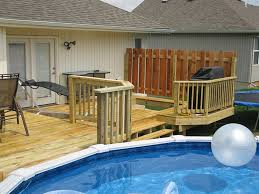 above ground round pool with deck. Deck Plans For Above Ground Round Pools | Decks  Pool Steps Above Ground Round Pool With Deck