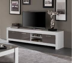 tv kast. marknesse tv-kast groot wit/grijs tv kast d