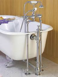 clawfoot tub shower fixtures. straight tub supplies for deck mount faucets clawfoot shower fixtures r