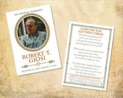 Memorial Card Template Funeral Cards Template Rome Fontanacountryinn Com