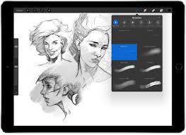 Drawing On Ipad Pro The Designers Ipad Pro App Buyers Guide Design Milk