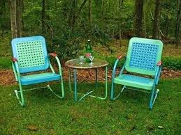 retro metal outdoor furniture. Brilliant Furniture Retro Metal Outdoor Chairs Patio For Sale  In Retro Metal Outdoor Furniture W