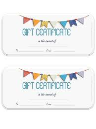 Printable Gift Certificate Templates 15 Free Printable Gift Certificate Template Statement Letter
